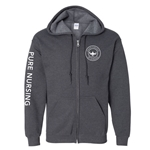 GC23<br>GILDAN FULL ZIP HOODED SWEATSHIRT