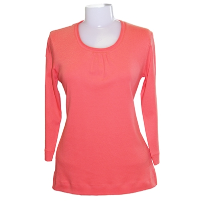 TCi5022<br>Ladies' 3/4 Sleeve Scoop Neck Shirt