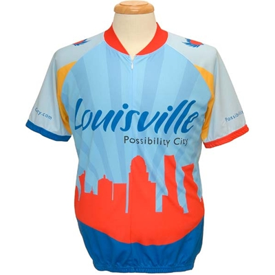 "LMS146-9 <br />Louisville ""Possibility City"" Bike Jersey"