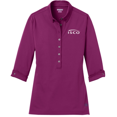 IS269<br />OGIO LADIES 3/4 SLEEVE POLO