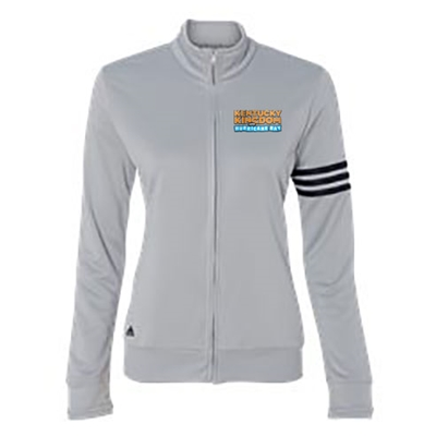 KK108<br>Adidas Ladies Full Zip French Terry 3 Stripe Jacket