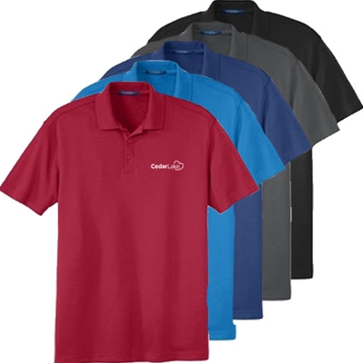 CL141<br>Mens Interlock Performance Silk Touch Polo Shirt