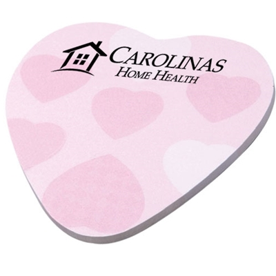 CHS124<br>Heart Shaped Sticky Pad