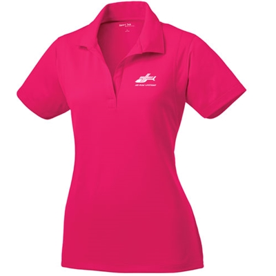 AEL101/LST650<br>Ladies Sport Tek Micropique Wicking Polo
