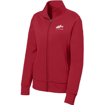 AEL141/LST241<br>Sport Tek Ladies Full Zip Performance Fleece Jacket