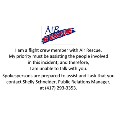 AIR824<br>Air Rescue Inquiry Cards