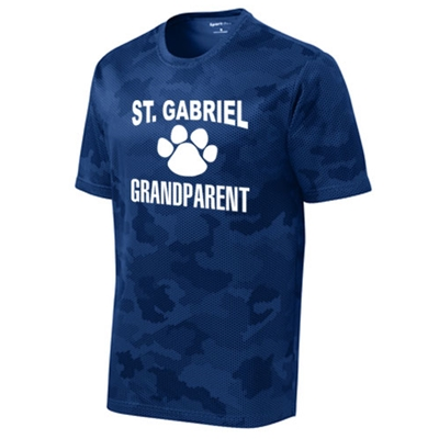 SG605/ST370<br>Grandparent Camohex Tee