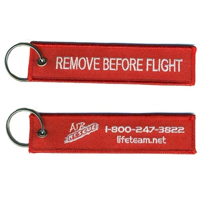 AIR200<br>Remove Before Flight keychain