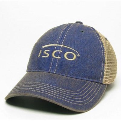 IS298<br />OLD FAVORITE TRUCKER CAP W/ISCO LOGO