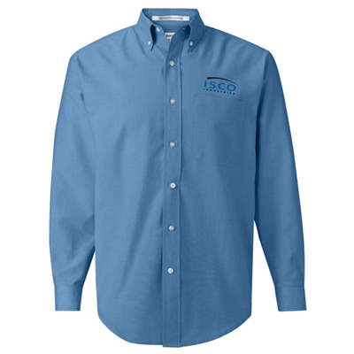 IS01<br />Long Sleeve Oxford Shirt
