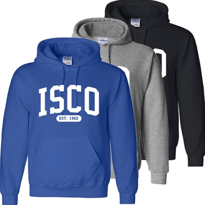 IS304<br />Hooded Sweatshirt - ISCO EST. 1962