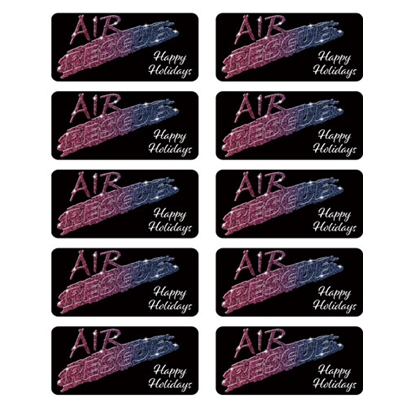 AIR817<br>Air Rescue Holiday Stickers