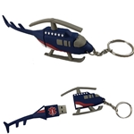 AEL281<br>Helicopter 4.0GB USB w/ Split Ring